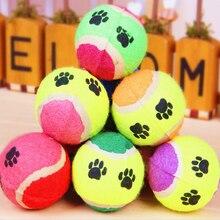 Забавные жевательные игрушки, игрушки для домашних животных, кошек, собак, щенков, игровой теннисный мяч для тренировок