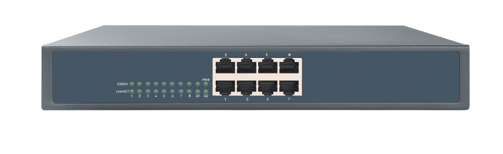 все цены на 8 port 10/100/1000M network Switch full Gigabit Ethernet switch built in power rack mount онлайн