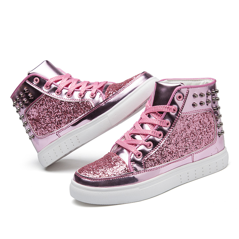 2019 Fashion Women Flat Shoes Autumn Rivet Woman Sneakers Rhinestone Lace-up Female Casual Bling Ankle Shoes Plus Size2019 Fashion Women Flat Shoes Autumn Rivet Woman Sneakers Rhinestone Lace-up Female Casual Bling Ankle Shoes Plus Size