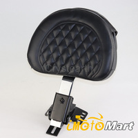 Motorcycle Adjustable Driver Rider Backrest Kit For 97 16 10 11 12 13 14 15 Harley Touring Road King Road Street Electra Glide