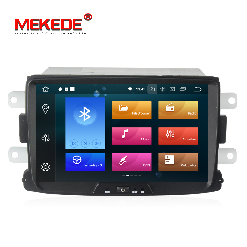 Large memory Mekede PX5 4G 32G android8 0 car radio gps dvd player for Renault Duster
