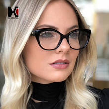 SHAUNA Spring Hinge Retro Cat Eye Eyeglasses Frame Women TR90