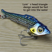 JUYANG Swing X2 40g Metal fishing bait lure Collocation Origin Treble hooks Artificial hard lures
