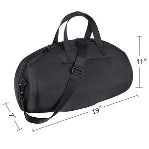 Image 3 - Dla Boombox przenośny wodoodporny głośnik Bluetooth twarda obudowa torba do noszenia pudełko ochronne (czarny)