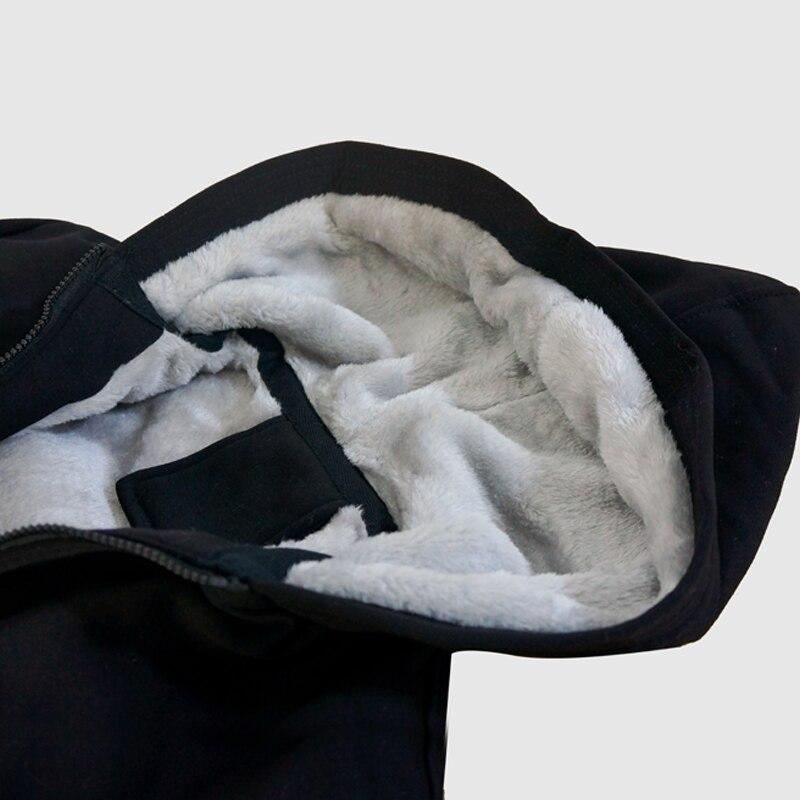 Hoodies De Con Capucha Hombres Algodón Abrigo Leyendas Moda Caliente En Abril Los Gruesa Nuevo Sudadera Invierno gray Black Nacen AqPRvt