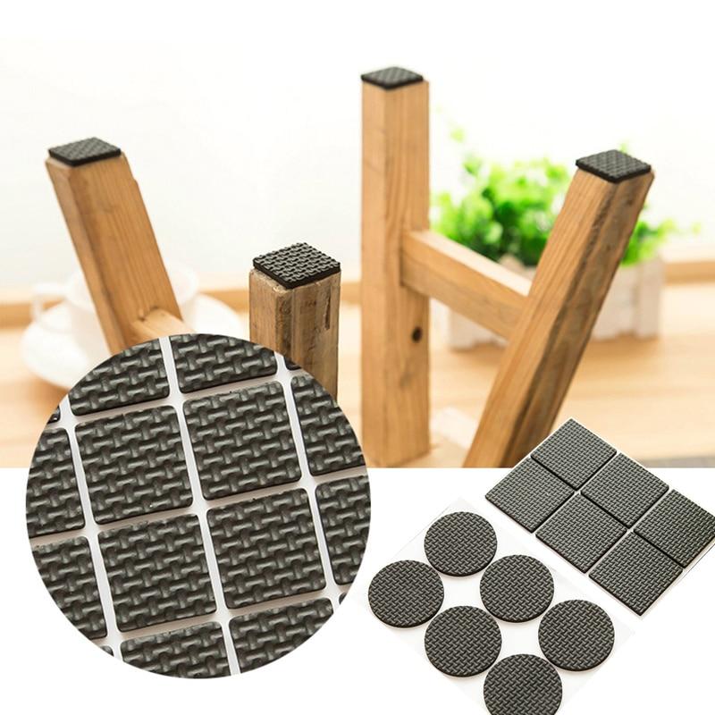 цена на NEW tool DIY Furniture Leg Pad Protector Feet Rug Felt Pads Anti Slip Mat Bumper Damper For Chair Table accessories
