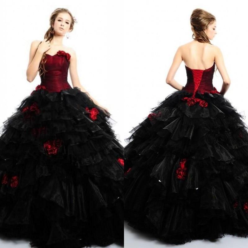 Black Wedding Dress Up : High quality red black wedding dress promotion shop for