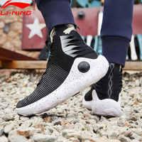 Li-Ning Männer ESSENZ UNENDLICHE Wade Kultur Schuhe Atmungsaktive Komfort Futter Licht Gewicht Wearable Sport Schuhe AGWP007 XYL237