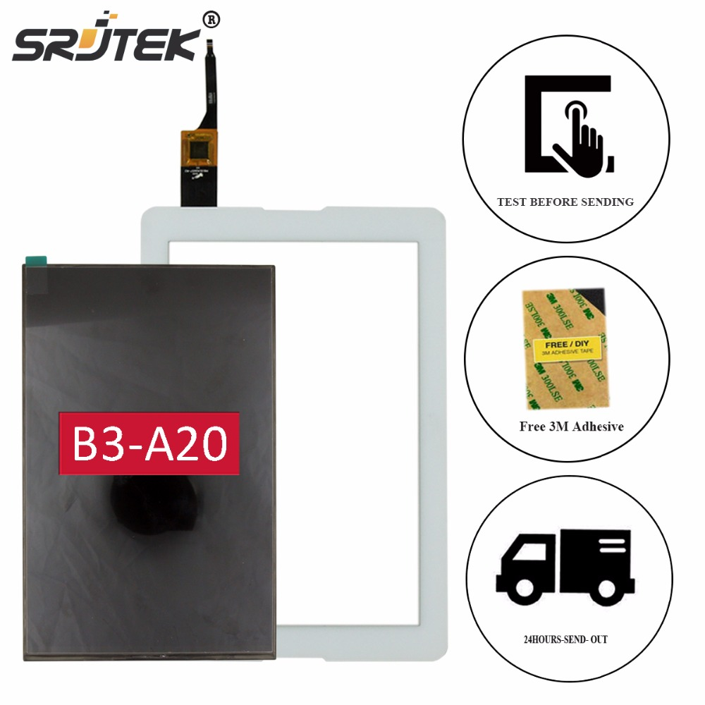 Srjtek 10.1 Matrix For Acer Iconia One 10 B3-A20 A5008 Tablet PC LCD Display Touch Screen Digitizer Glass Sensor Replacement 10 1inch tablet pc for acer iconia tab 10 a3 a40 touch screen lcd display digitizer sensor replacement parts