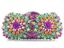 Evening Bags Women Designer Banquet Bags Crystal Day Clutch Female Wedding Purse and Handbags Ladies handbags LI-1016