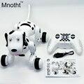 2.4G Controle Remoto Sem Fio Inteligente Cão/Cão Robô Inteligente Do Programa Disponível Preto/Rosa Linda Dançando Cães Andando para o Presente