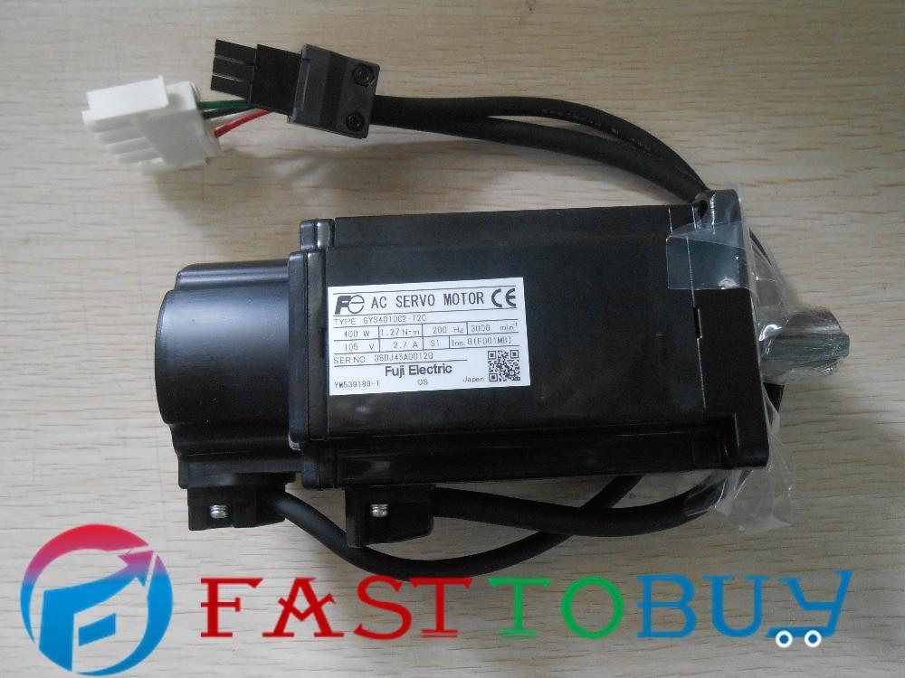 Servo Motor  200V 400W 0.4KW 3000r/min GYS401DC2-T2C New in box hf kp73 2a 750w 2 4nm 3000r min motor new original
