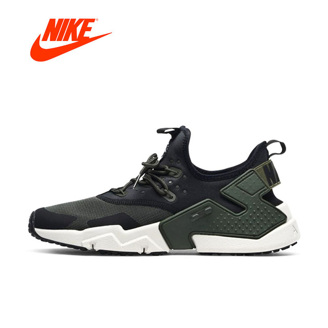Original New Arrival Authentic NIKE Air Huarache Drift PRM Mens Running Shoes Sneakers Outdoor Walking Jogging Sneakers
