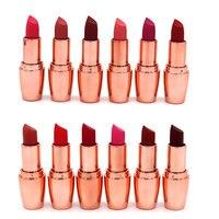 New 12PCS Water Resistant Matte Lipstick Set Make Up Cosmetics 12 Colors Pintalabios Larga Duracion Mate For Women