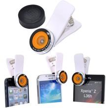 2016 Devil's Eye Clip Mobile Phone Fisheye Lens 180 Degree Fisheye Lens Clip On Fish Eye For iPhone 4S 5 5C 5S 6 Plus Smartphone