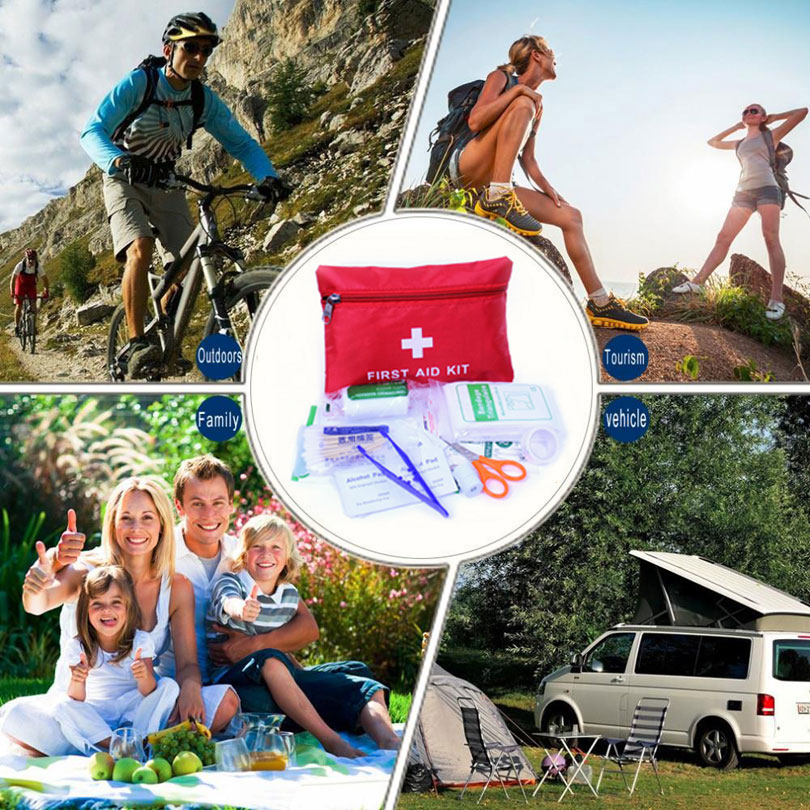 Купить с кэшбэком Outdoor First Aid kit Home First Aid kit Portable Car Field Supplies Self-Defense Earthquake Treatment Emergency Medical Kits