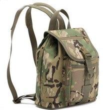 Multifunción exterior deportes del bolso de hombro de los aficionados militares tácticos TPU mochila mochila de camuflaje impermeable envío gratis