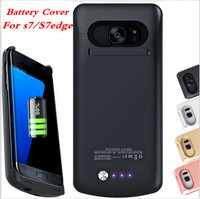 S7 Battery Case Charger For Samsung Galaxy S7 Edge Case Power Bank Charge Slim Thin Charger
