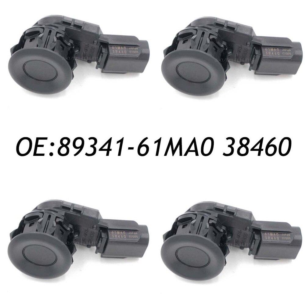 4 pz 89341-61MA0 38460 PDC SENSORI di Retromarcia di Backup di Assistenza Al Parcheggio Sensore di Misura Per Toyota 89341-61MA0-384604 pz 89341-61MA0 38460 PDC SENSORI di Retromarcia di Backup di Assistenza Al Parcheggio Sensore di Misura Per Toyota 89341-61MA0-38460
