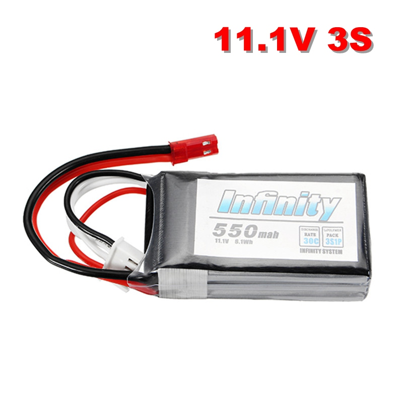2017 Newest Batch for Infinity 550mAh 30C 7.4V 2S / 11.1V 3S FPV Racing Lipo Battery 20 Silicone Line JST Plug Connector DIY 2017 newest batch for infinity lihv 1500mah 4s 85c 15 2v 22 8wh rechargeable lipo battery for rc racing racer power spare parts