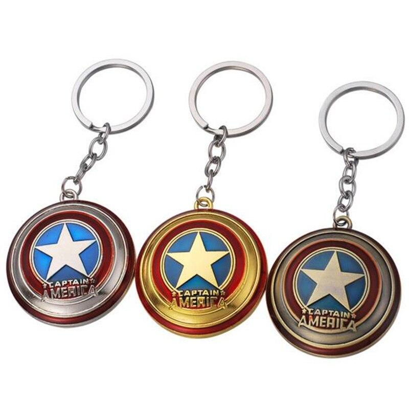 Marvel The Avengers Ironman Tony Captain Steve Acryliv keychain Keyring Be
