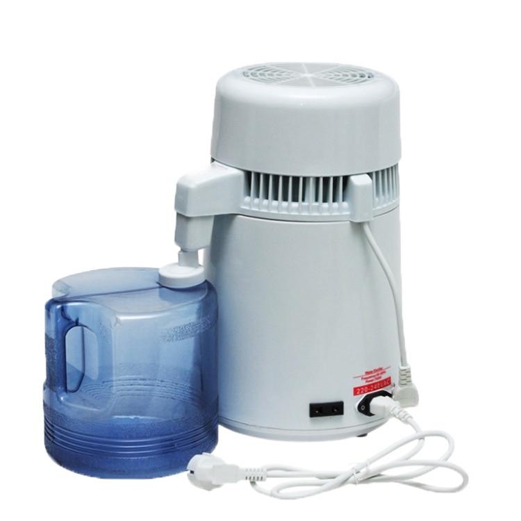 Usine d'acier inoxydable d'équipement d'épurateur de Distillation dentaire de Machine distillée par eau de filtre de distillateur d'eau Pure de 4L