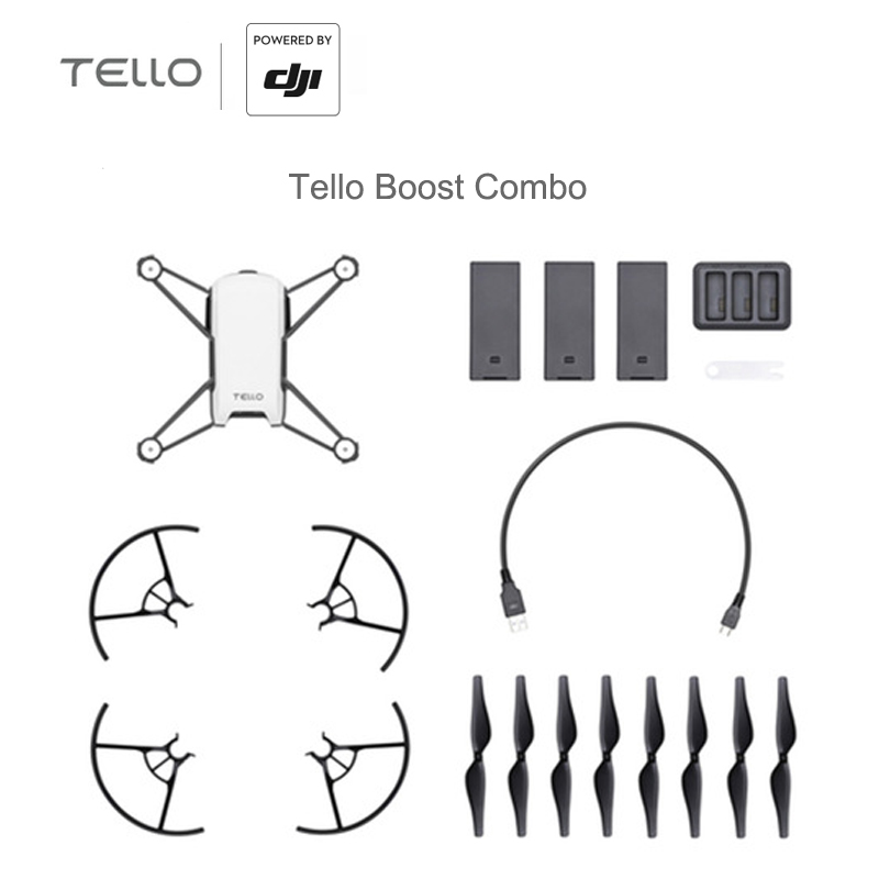 DJI Tello Camera Drone Ryze Tello Drone with Coding Education 720P HD Transmission Quadcopter FVR Helicopter DJI Camera Drone