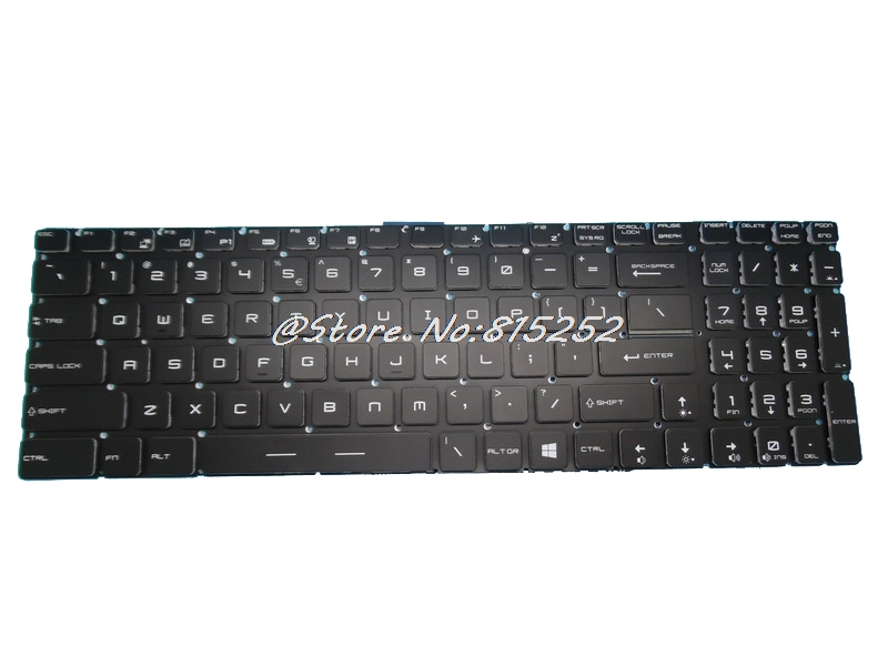 Keyboard For MSI GT73VR 6RE-013CN GT73VR 6RF-094CN MS-17A1 7RE 7RF United States US With Colourful Backlit/Without Backlit New top242pn dip 7