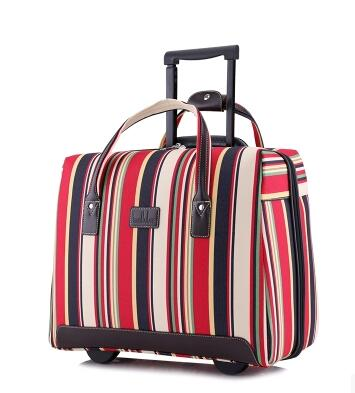 trolley bag with wheels carry on luggage Bag on wheels Rolling Luggage Bag Travel Boarding bag travel cabin luggage suitcase