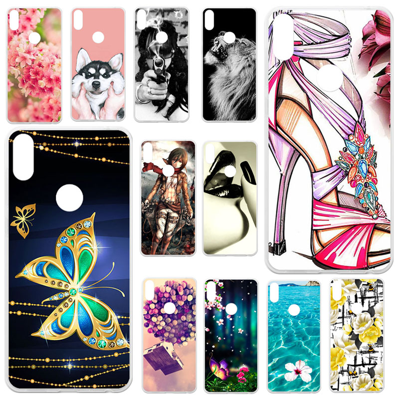 Soft TPU Cover Case For Asus Zenfone Max M2 ZB633KL Silicone Case Cover For Asus Zenfone Max M2 ZB633KL ZB632KL Bumper