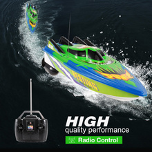 RC Boat Radio Control Racing Boat Electric Ship RC High Speed Waterproof Toys for Children Gift