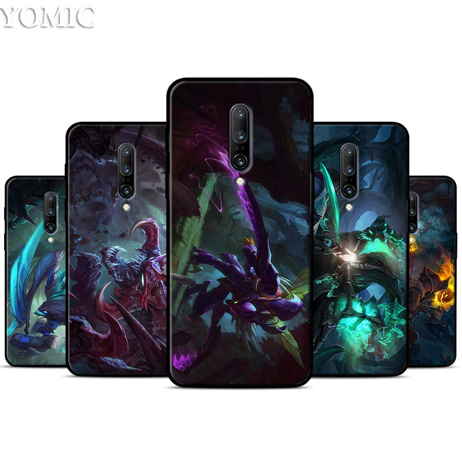 League of Legends Teemo Ezreal Silicone Case for font b Oneplus b font font b 7