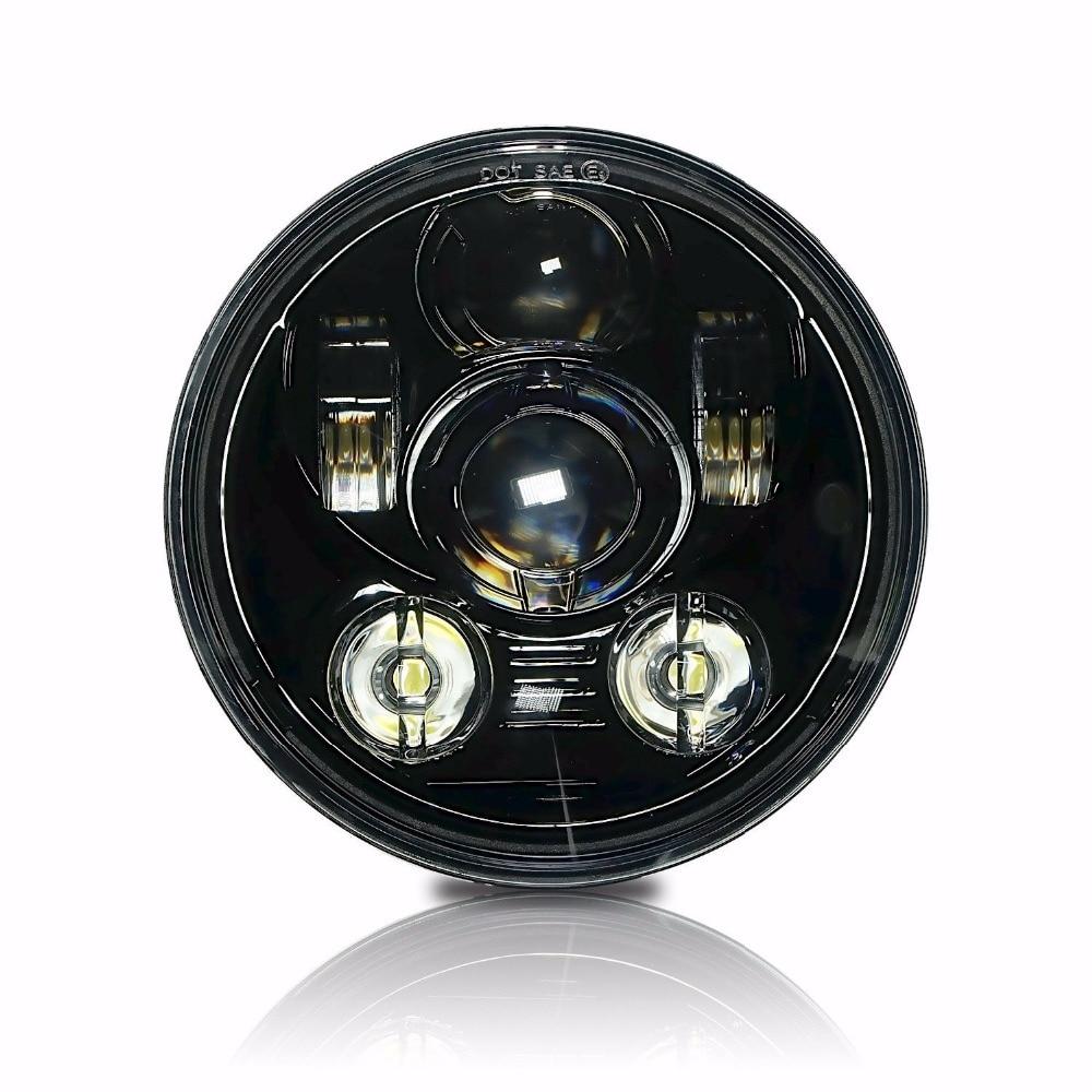 LED 5 75 5 3 4 Motorcycle Projector Light Bulb Headlight Healamp 12V DC DOT E9