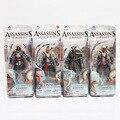 4 estilos neca assassins creed 4 bandera negro pvc figure toys edward connor haytham kenway etc modelo de recogida de juguetes