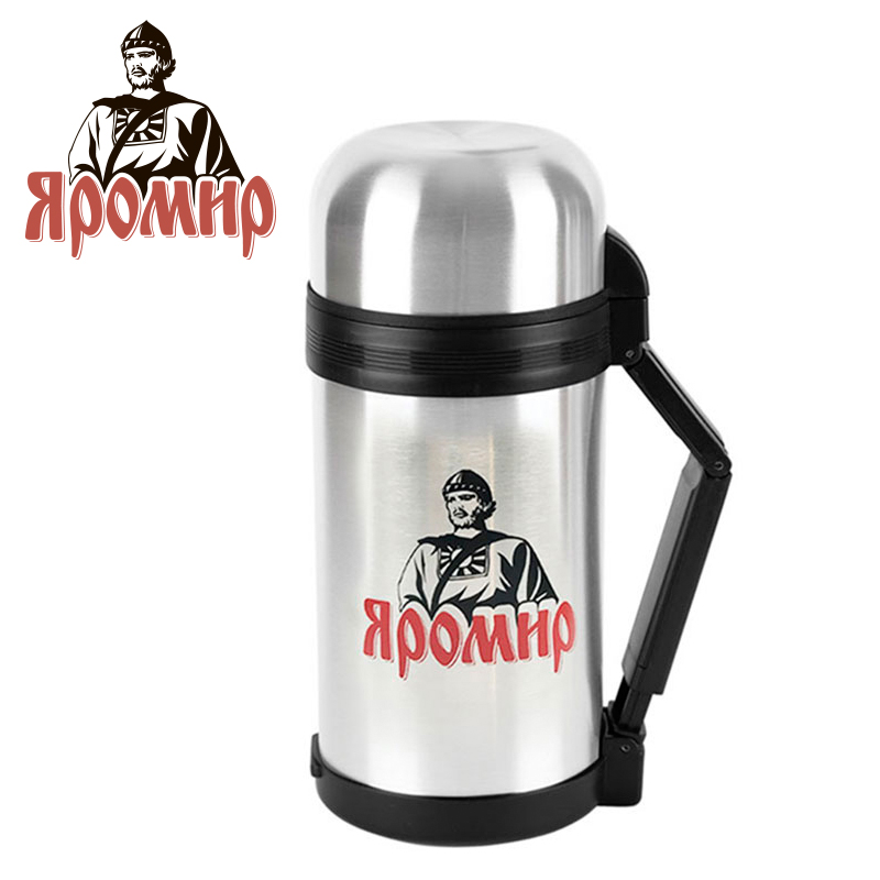 YAROMIR YAR-2013M Thermose 1000ml Vacuum Flask Thermose Travel Sports Climb Thermal Pot Insulated Vacuum Bottle Stainless Steel yaromir yar 2003m thermose 1000ml vacuum flask thermose travel sports climb thermal pot insulated vacuum bottle stainless steel
