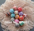 Mixed Colors Flower Fimo Polymer Clay Jewelry Beads 10MM DIY Accessory Findings Accesorios Para Hacer Pulseras 300pcs/lot D0503