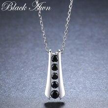 Повседневное поступление 925 пробы серебряные ювелирные изделия трендовые Цветочные обручальные ожерелья и подвески для женщин K010