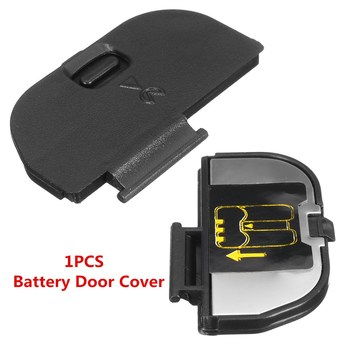 Black Plastic Battery Door Cover Lid Repair Replacement Part Plastic For Nikon D80 D90 NEW image