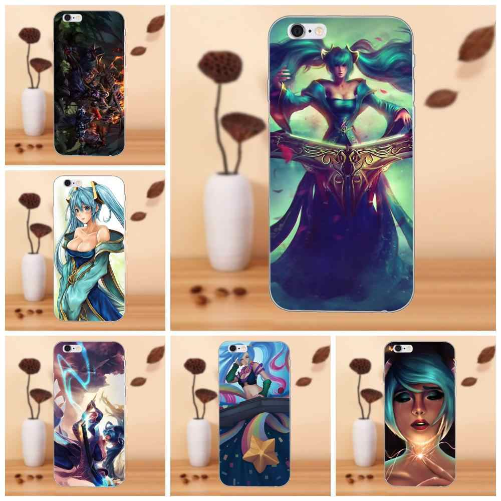 Sona League Of Legends Lol 2 iphone case