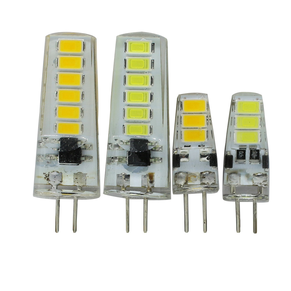 New Arrival Dc12v G4 Led Bulb 3w 5w Smd 5733 Led G4 Lamp Light For Crystal Chandelier G4 Led