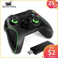 Data Frog 2.4GHz Wireless Gamepad Support For PS3 XBox One Console PC Android smartphones Joystick Controle
