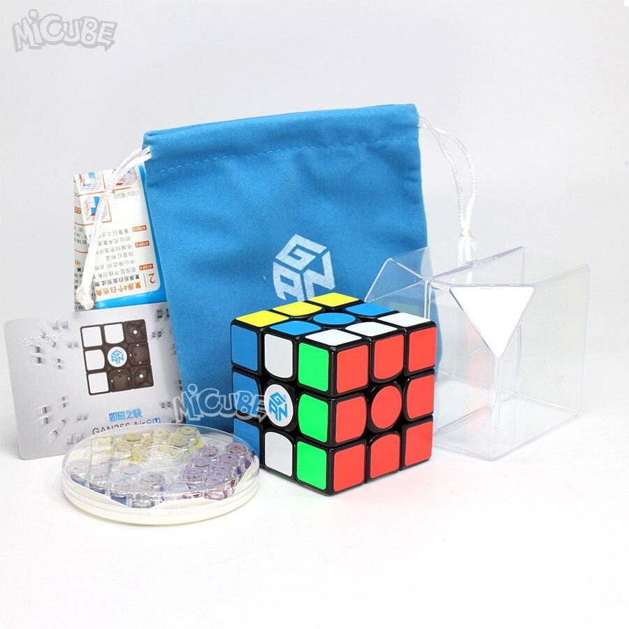 GAN 356 Air SM vitesse Cube positionnement magnétique supervitesse magnéto 3x3 Cubo Magico Gan356 Air SM 3x3x3 Cube magnétique Cube magique - 3