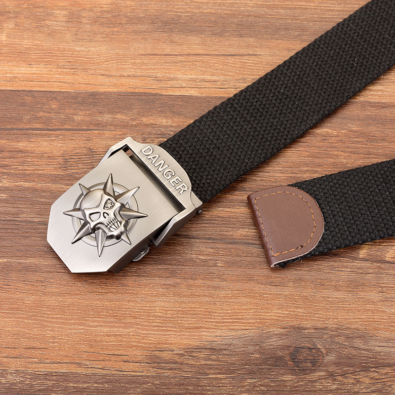 MUSENGE Designer Canvas Strap High Quality Military Belts For Men Luxury Jeans Army Casual Style Belt Alloy Buckle Waist Belts