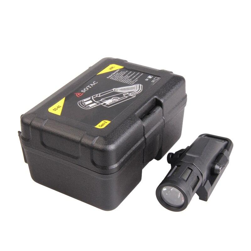 Nuit Evolution Lumières Tactique Gun Multifonctionnel Fusil Monté LED IR Lanterne 20mm Picatinny Rail lampe de Poche