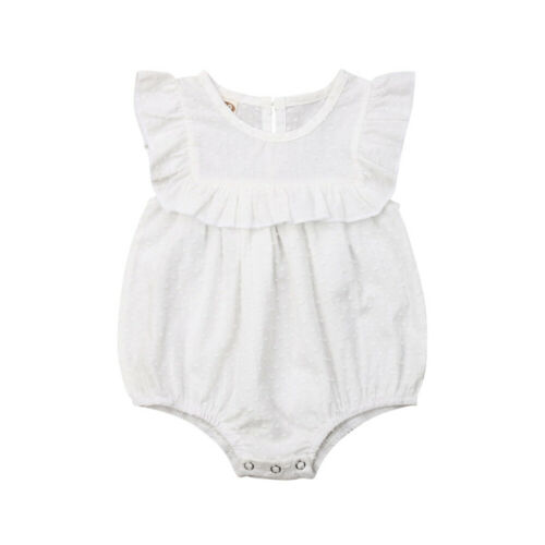 Baby Girl Clothes Sleeveless Romper Jumpsuit Overall Outfit Summer 0-18M