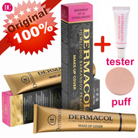 Dermacol 100% Original Base Primer Corrector Concealer 30g+4g Cream Makeup Base Tatoo Consealer Face Foundation Contour Palette