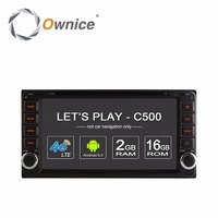 Ownice 4Core 2G RAM Android 6 0 Car Dvd Gps For Toyota Yaris Vios Hilux Land