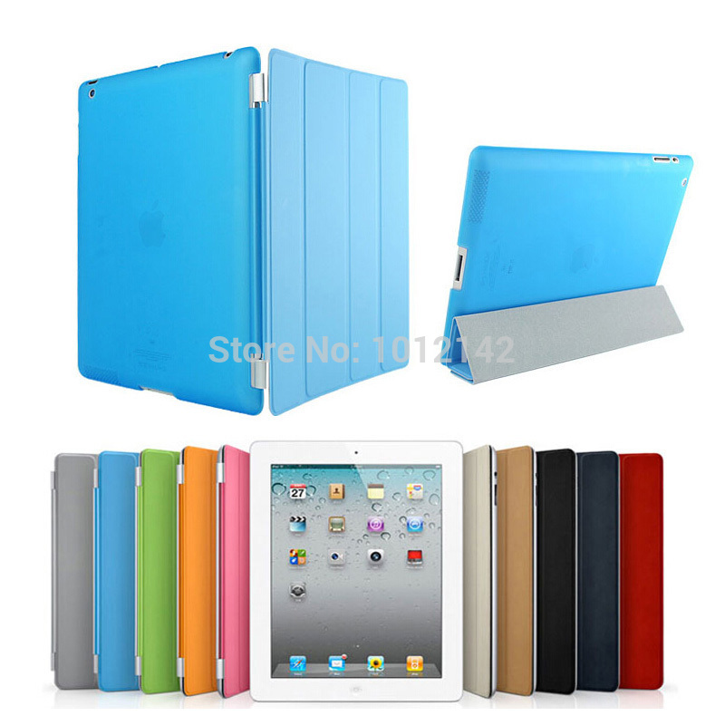 Christmas Gifts Fashion Design Magnetic Smart Cover Matte Hard Back Case For Apple Ipad 6 Air