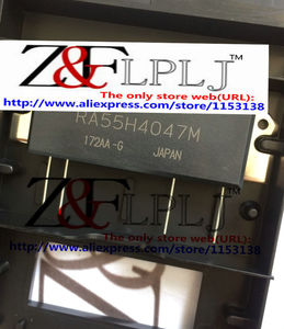 Image 1 - RA55H4047M  RA55H4047M 101  RA55H4047  55 watt RF MOSFET Amplifier (Replaced RA30H4047M & RA45H4047M) NEW ORIGINAL 2pcs/lot