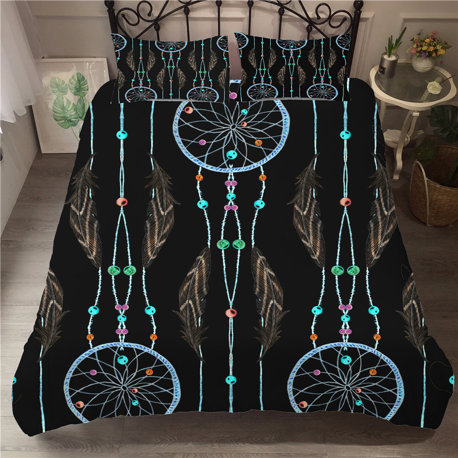 Bedding Set 3D Printed Duvet Cover Bed Set Dreamcatcher Bohemia Home Textiles For Adults Bedclothes With Pillowcase BMW18